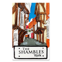 Load image into Gallery viewer, Resin magnet York The shambles H