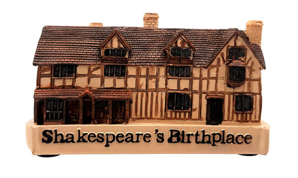 Shakespeare Birthplace Resin Figure - Britishsouvenir