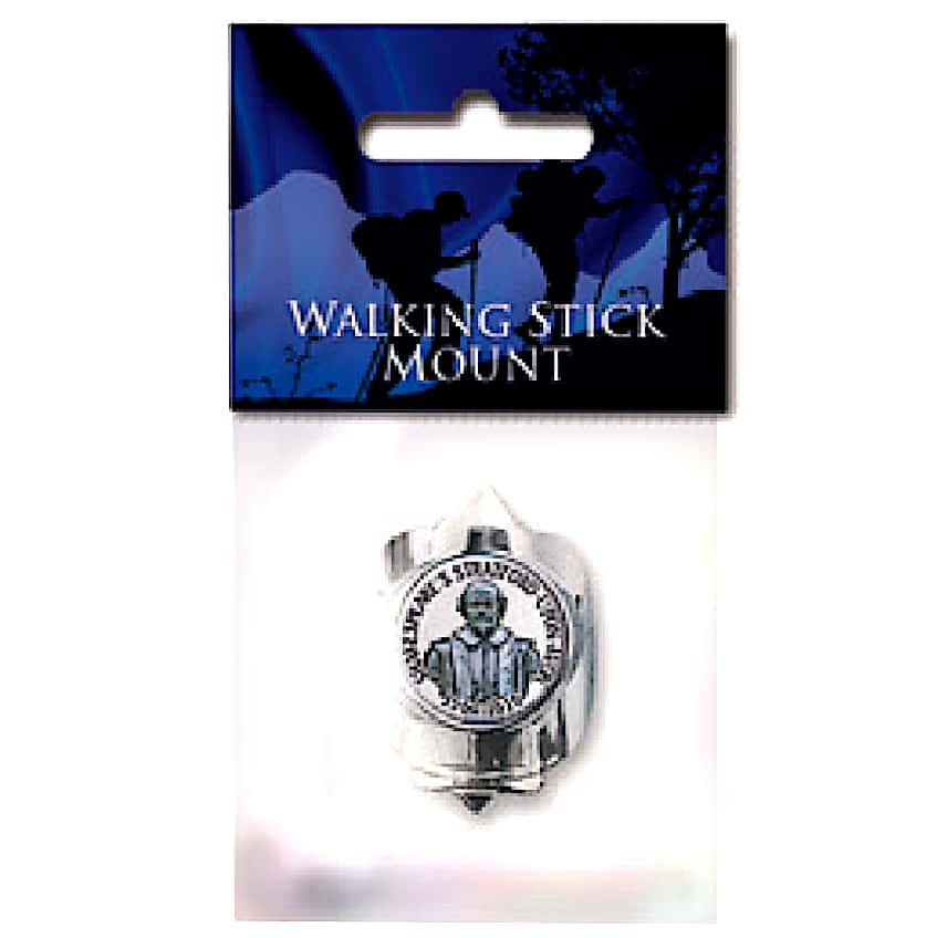 Shakespeare Cameo Walking Stick Mount
