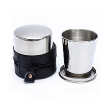 Load image into Gallery viewer, Stainless Steel Telescopic Travel Cup