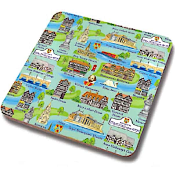 Stratford Upon Avon Icons Coaster