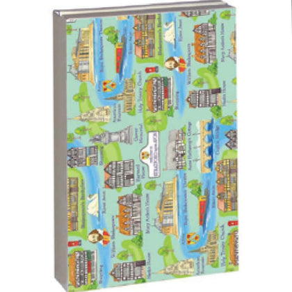 Stratford Upon Avon Icons Series 13 Notecard Wallet - Britishsouvenir
