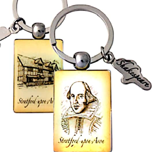 Stratford Upon Avon Key Ring - Britishsouvenir