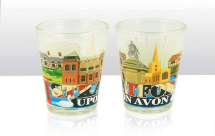 Stratford Upon Avon Skyline Scene Shot Glass - Pridesouvenirs