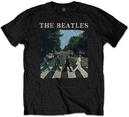 The Beatles Kid's T-Shirt Abbey Road & Logo