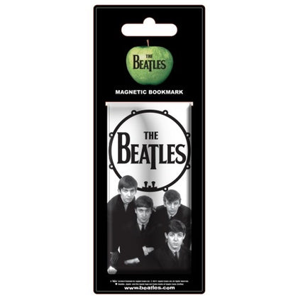 The Beatles Magnetic Bookmark: Drum head