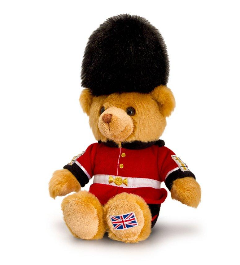 Guardsman Bear Plush Toy 15cm
