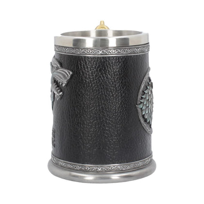 Winter is Coming Tankard game of thrones 14cm - britishsouvenirs