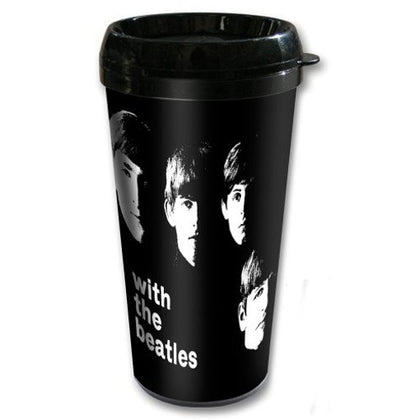 The Beatles Travel Mug: With The Beatles (Plastic Body)