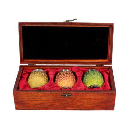 Dragon Egg Shot Glasses (Drogon, Rhaegal, Viserion) (GOT) - Pridesouvenir