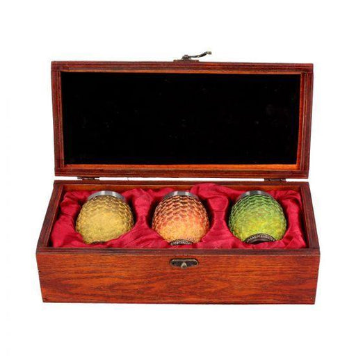 Dragon Egg Shot Glasses (Drogon, Rhaegal, Viserion) (GOT)