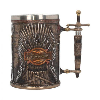Iron Throne Tankard game of thrones 14cm - britishsouvenir