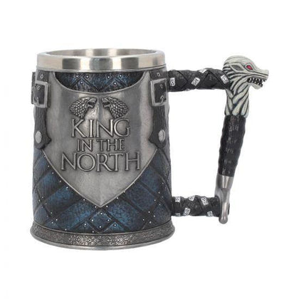 King In The North Tankard game of thrones 14cm - britishsouvenir