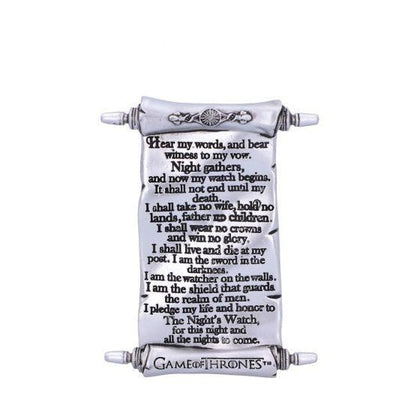Nights Watch Magnet (GOT) 10cm - Britishsouvenir
