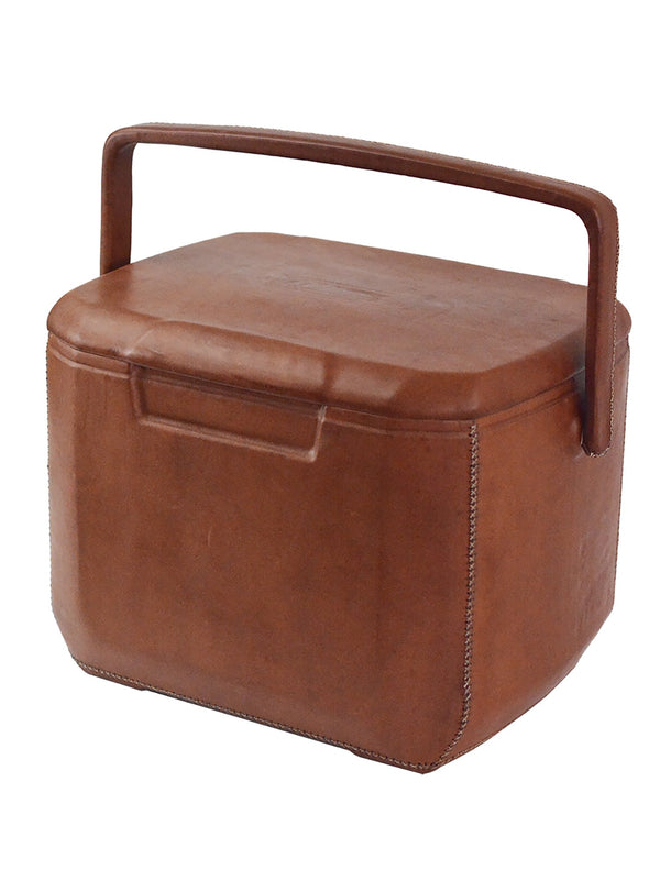 Exclusive leather cooler bag