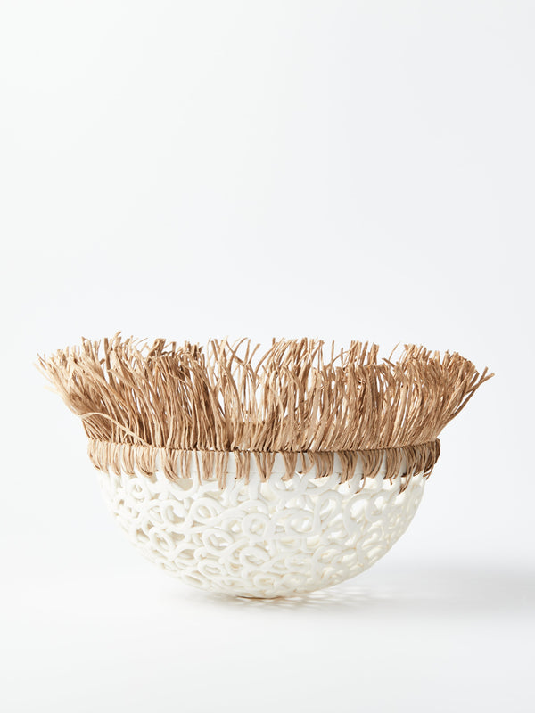 Porcelain Lace Bowl