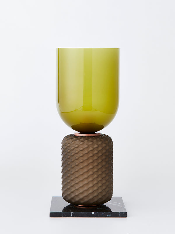 Cassina -  Ficupala table lamp - olive green