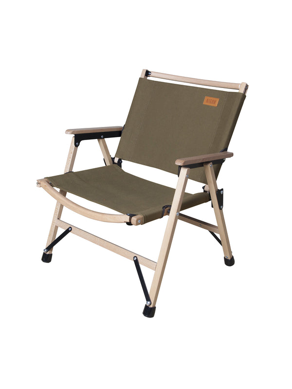Luxury folding camp chair