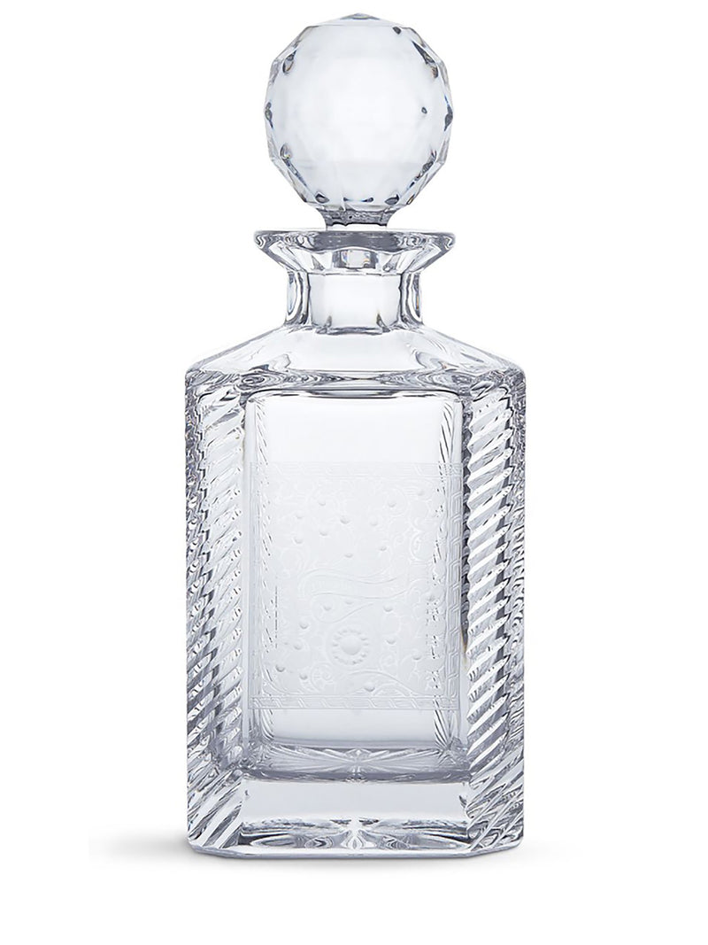 Purdey - Gun scroll crystal decanter
