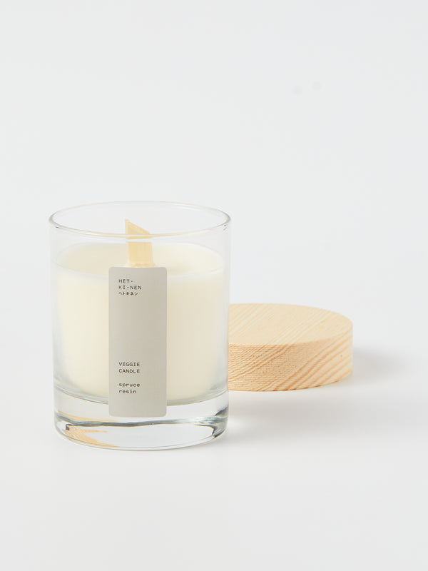 Veggie wax candle - Spruce resin