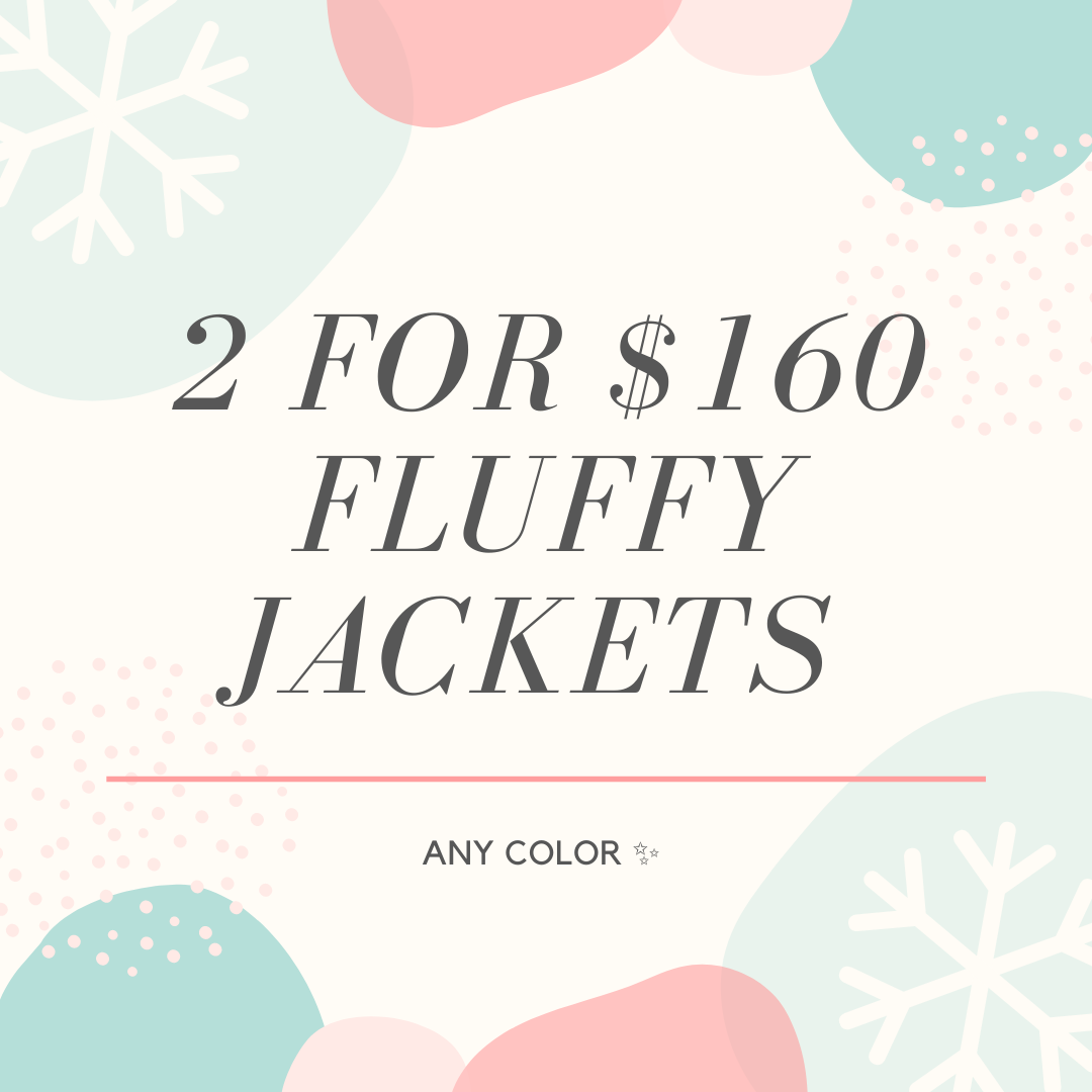 Fluffy jacket Black Friday deal