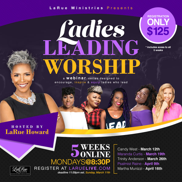 Ladies Leading Worship Registration