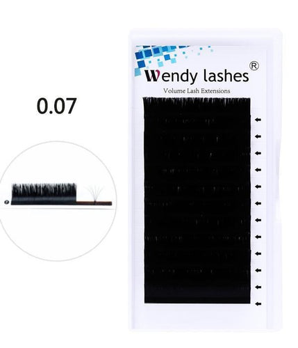 0.07MM EASY FAN LASH EXTENSIONS - Wendylash