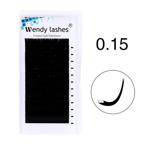 0.15MM ELLIPSE FLAT LASHES - Wendylash