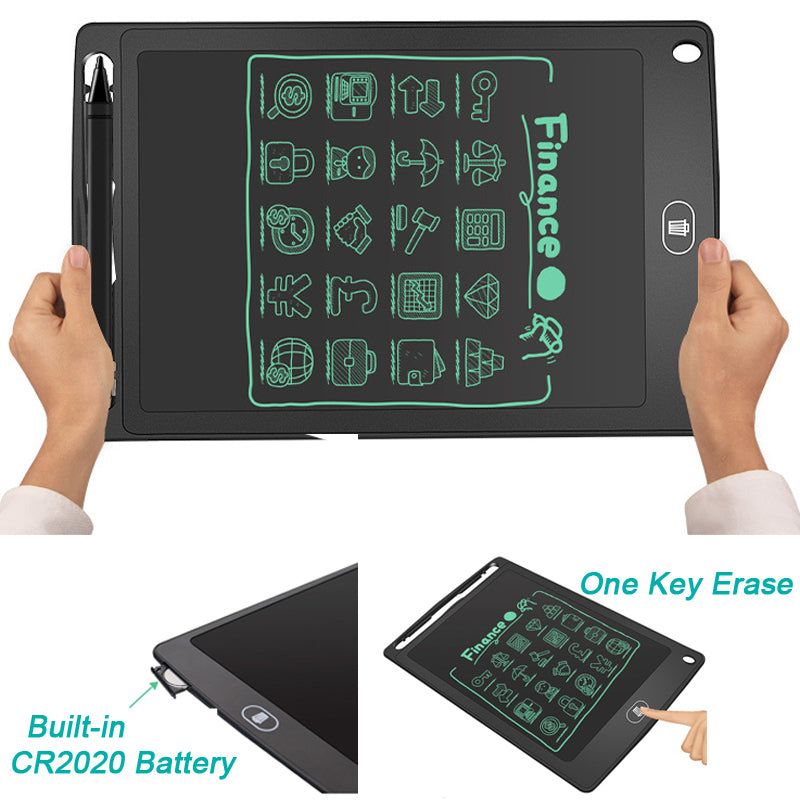 EDUCATIONAL 8.5 INCHES LCD WRITING TABLET PAD