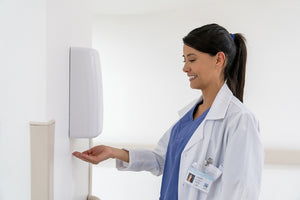 Hands Free Automated Hand Sanitizer Dispenser Stand