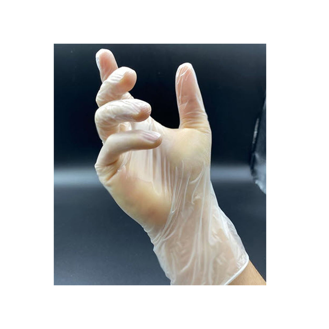 Disposable Vinyl Gloves (100-Pack)