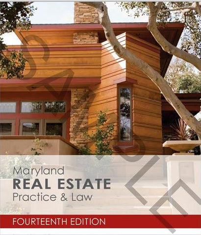 Maryland Real Estate Practice & Law (14th Edition)