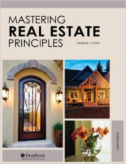 Mastering Real Estate Principles- 6th Edition