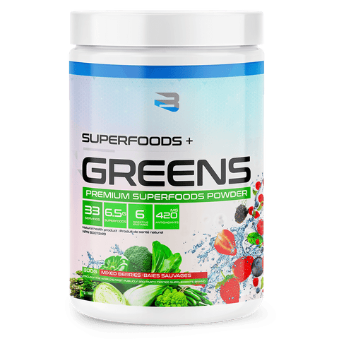 Believe Supplements Organic Greens