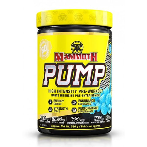 Mammoth Pump Pre-Workout