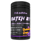 TC Nutrtion Batch 27 Pre-Workout