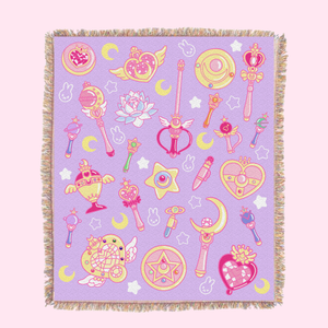 Moon Weapons blanket