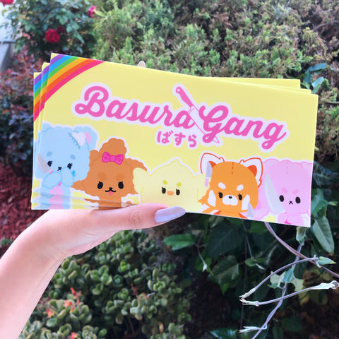 Basura Gang Bumper Sticker