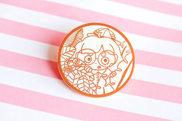Safari Mari Enamel Pin