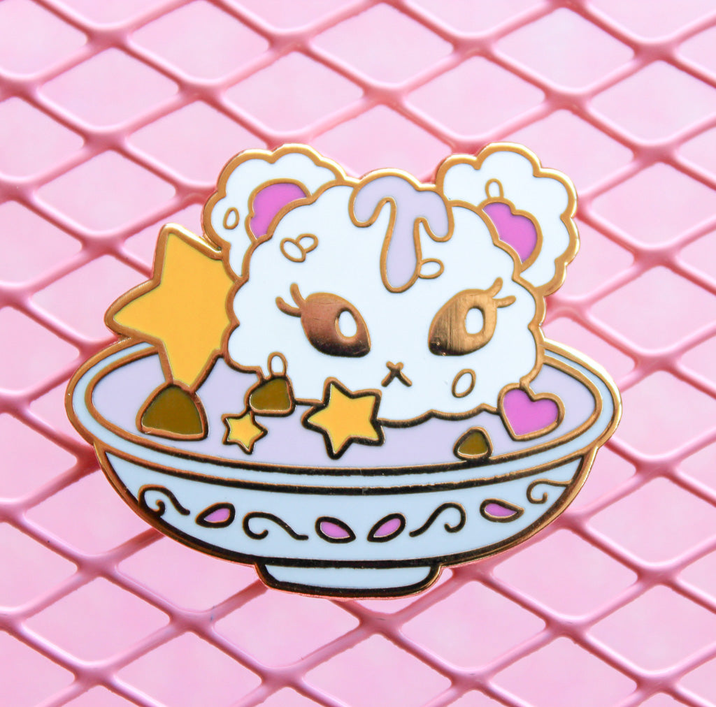 Pink Curry Pin