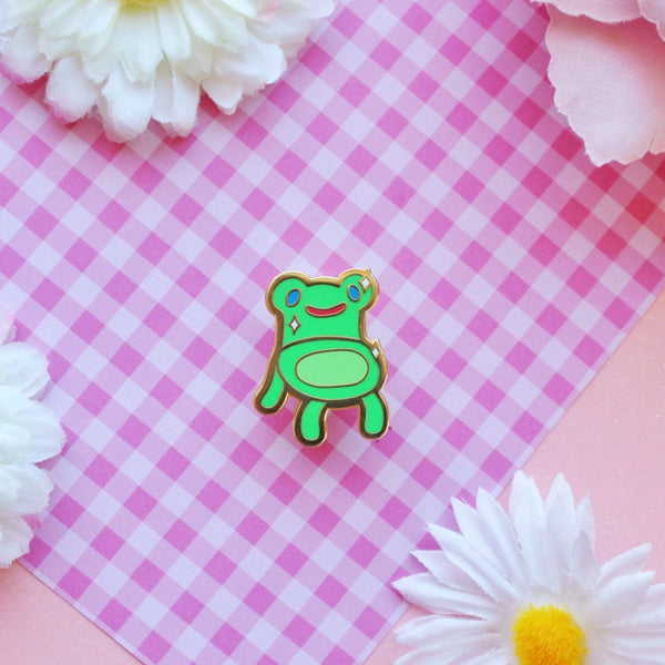 Froggy  enamel Pin
