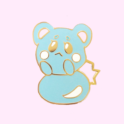 Blue Baby Pin