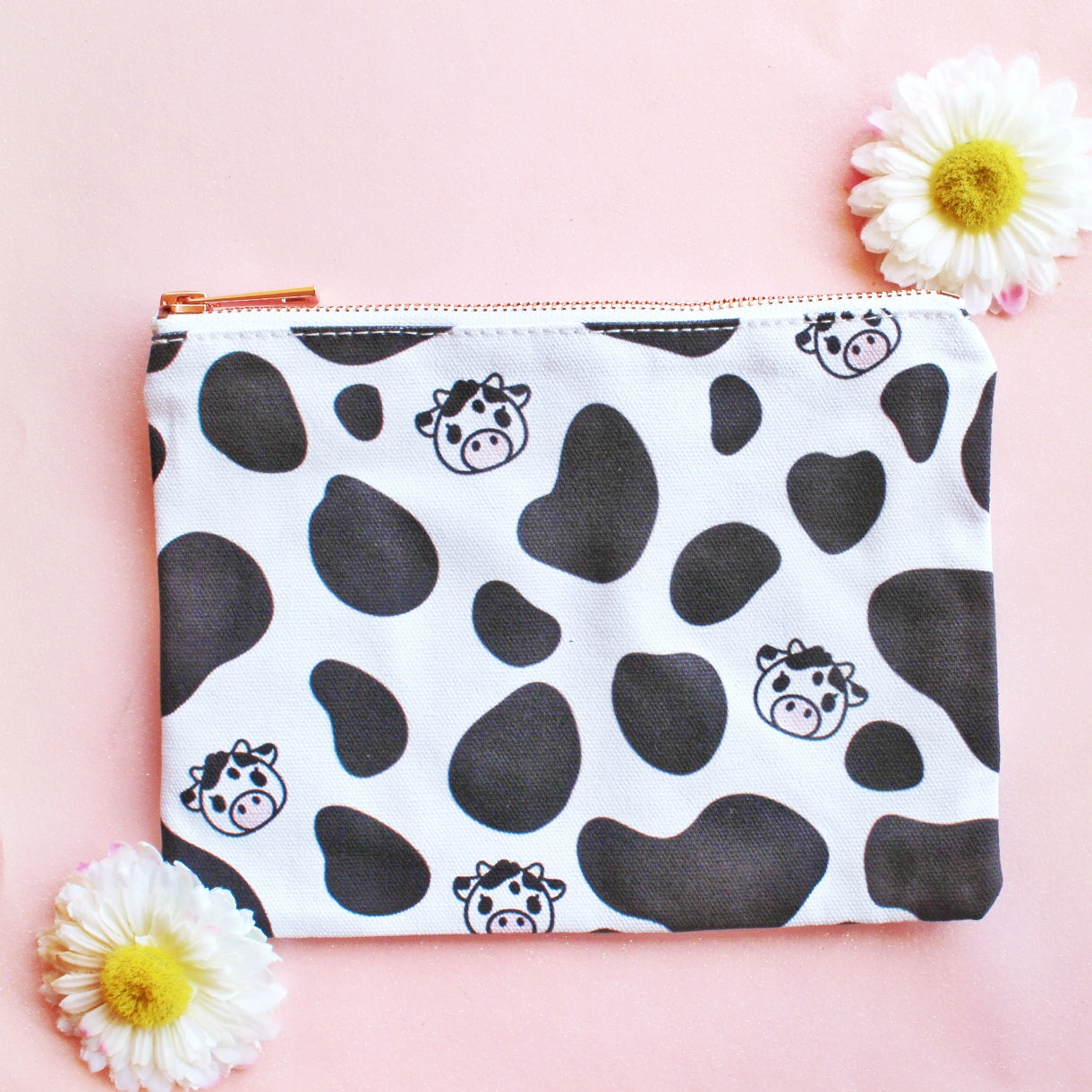 Cow Print MakeupBag