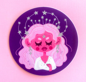 Star queen Sticker