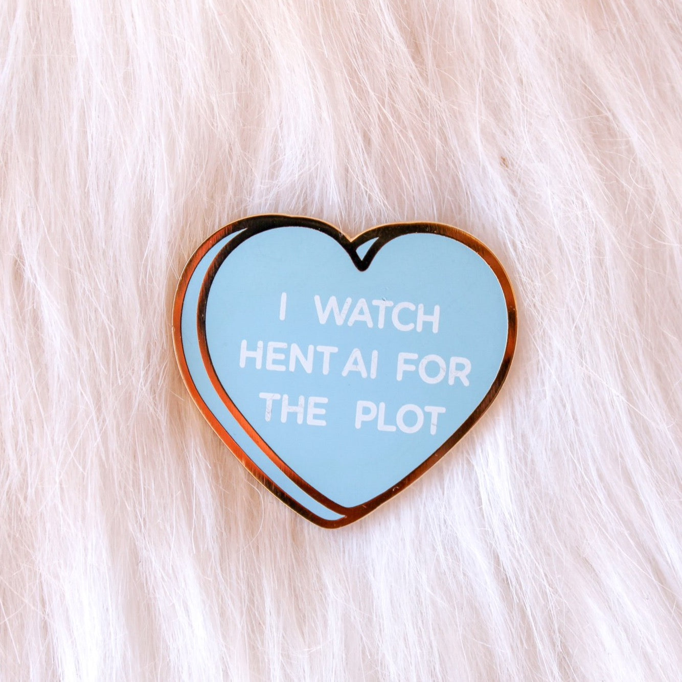 Hentai Candy Hearts Pin