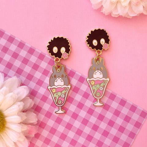 Anime Ice Cream Earrings