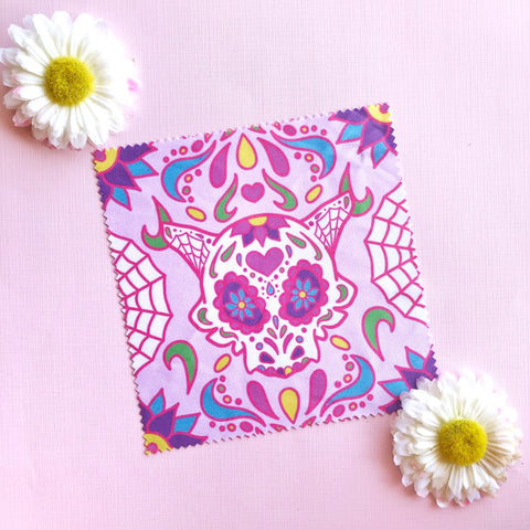 Sugar Skull Microfiber Cloth