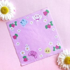Strawberry Picnic Microfiber Cloth