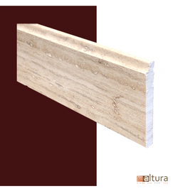 Alabastrino Rustic Base Molding - Altura Stone and Tile