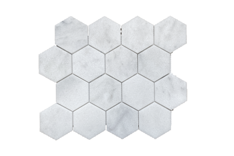 "Alba Vera 3"" Hexagon Honed - Altura Stone and Tile"